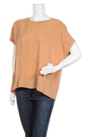 Дамска блуза Luxzuz One Two, Размер L, Цвят Бежов, Вискоза, Цена 10,08лв.