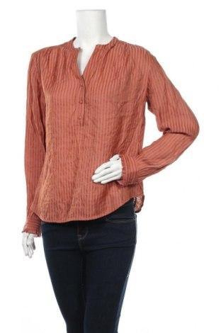 Дамска блуза Luxzuz One Two, Размер L, Цвят Кафяв, 70% вискоза, 30% полиамид, Цена 11,97лв.