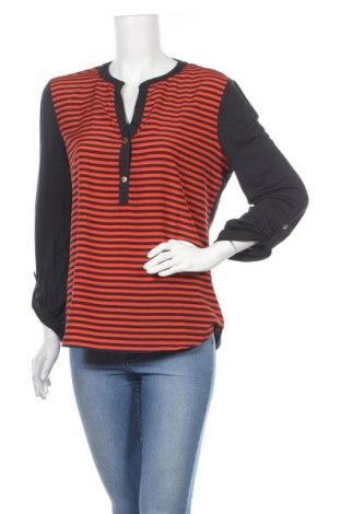 Дамска блуза MICHAEL Michael Kors, Размер L, Цвят Син, 70% вискоза, 30% лиосел, Цена 118,30лв.