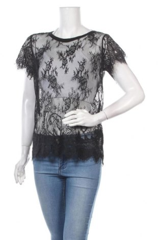 Дамска блуза Maison Scotch, Размер S, Цвят Черен, Полиамид, Цена 33,00лв.