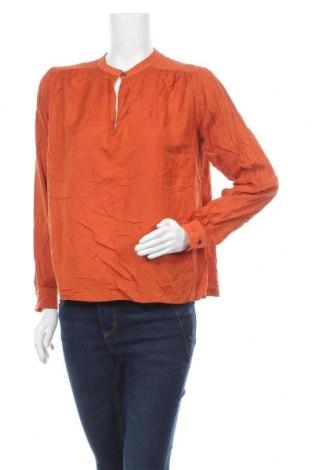 Дамска блуза Maison Scotch, Размер S, Цвят Оранжев, Вискоза, Цена 39,69лв.