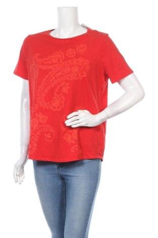 Dámská halenka Marks & Spencer, Velikost XL, Barva Červená, 100% bavlna, Cena  263,00Kč