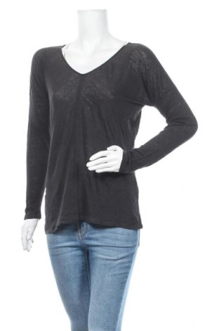Дамска блуза Massimo Dutti, Размер S, Цвят Черен, Цена 24,15лв.