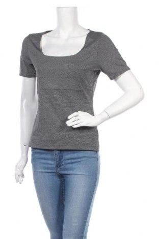 Γυναικεία μπλούζα Mexx, Μέγεθος L, Χρώμα Γκρί, 47% πολυαμίδη, 47% πολυεστέρας, 6% ελαστάνη, Τιμή 8,85€