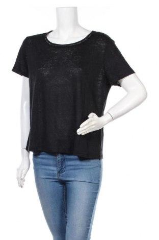 Γυναικεία μπλούζα Mexx, Μέγεθος XL, Χρώμα Μαύρο, Λινό, Τιμή 19,77€