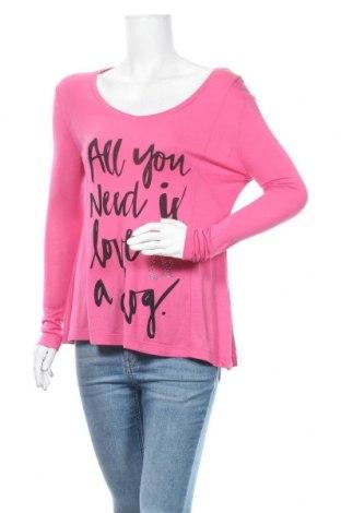 Дамска блуза Miss Goodlife, Размер XS, Цвят Розов, 100% вискоза, Цена 3,00лв.