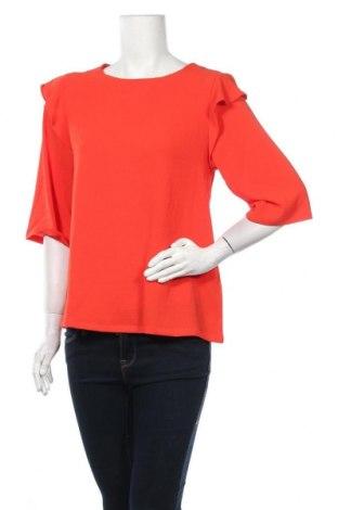 Дамска блуза Modstrom, Размер XS, Цвят Оранжев, 94% полиестер, 6% еластан, Цена 62,30лв.