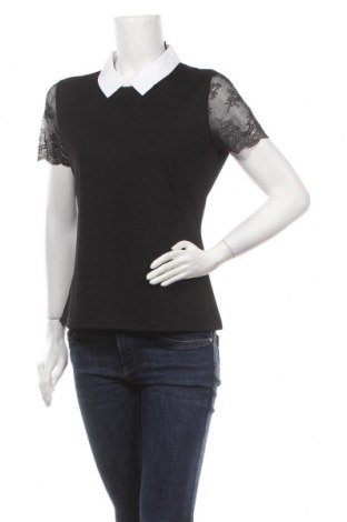 Bluză de femei Morgan De Toi, Mărime XL, Culoare Negru, 95% poliester, 5% elastan, Preț 77,37 Lei
