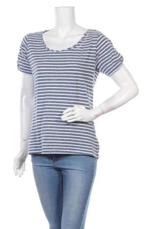 Дамска блуза Multiblu, Размер M, Цвят Син, 50% памук, 50% полиестер, Цена 18,90лв.