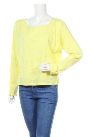 Дамска блуза Multiblu, Размер L, Цвят Жълт, Памук, Цена 17,85лв.