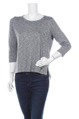 Дамска блуза My Blue by Tchibo, Размер S, Цвят Сив, 50% вискоза, 50% памук, Цена 16,80лв.