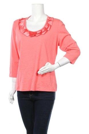 Дамска блуза Noni B, Размер XL, Цвят Розов, Памук, еластан, Цена 13,97лв.