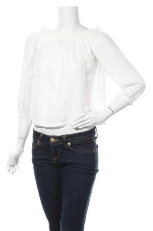 Дамска блуза ONLY, Размер M, Цвят Бял, Лиосел, Цена 13,69лв.