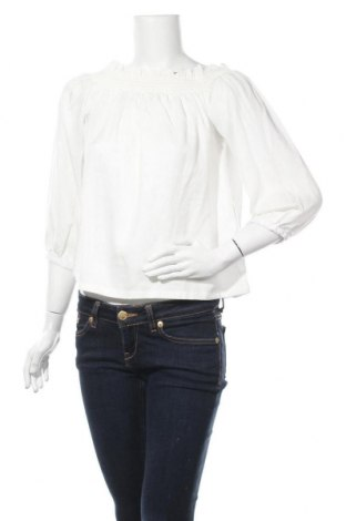 Дамска блуза ONLY, Размер L, Цвят Бял, Лиосел, Цена 13,69лв.