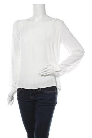 Дамска блуза Object, Размер M, Цвят Бял, Вискоза, Цена 17,11лв.