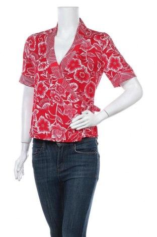 Дамска блуза Object, Размер S, Цвят Червен, Полиестер, Цена 34,50лв.
