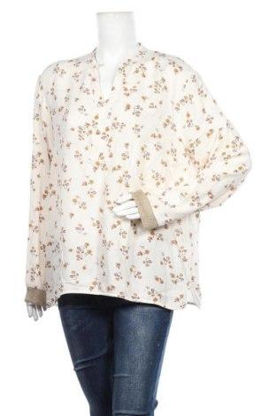 Дамска блуза One Two, Размер XL, Цвят Екрю, Вискоза, Цена 6,13лв.