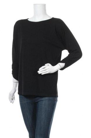 Дамска блуза Opus, Размер M, Цвят Черен, 64% полиестер, 34% вискоза, 2% еластан, Цена 22,05лв.
