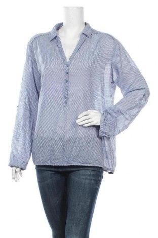 Дамска блуза Opus, Размер XL, Цвят Син, Памук, Цена 20,95лв.
