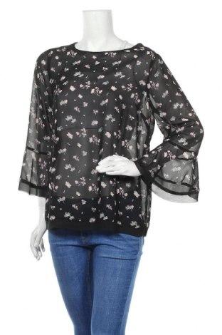Дамска блуза Oviesse, Размер XL, Цвят Черен, Полиестер, Цена 33,00лв.
