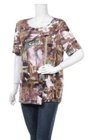 Дамска блуза Paola, Размер XL, Цвят Многоцветен, 95% вискоза, 5% еластан, Цена 15,12лв.