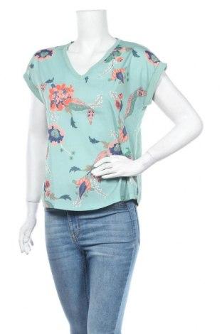 Дамска блуза Part Two, Размер S, Цвят Зелен, 52% модал, 48% памук, Цена 29,25лв.