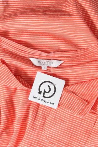 Дамска блуза Part Two, Размер S, Цвят Оранжев, Памук, Цена 13,44лв.