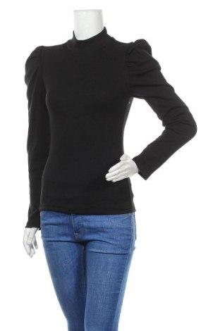 Γυναικεία μπλούζα Pieces, Μέγεθος S, Χρώμα Μαύρο, 95% βαμβάκι, 5% ελαστάνη, Τιμή 17,54€