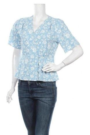 Дамска блуза Primark, Размер M, Цвят Син, Полиестер, Цена 16,80лв.