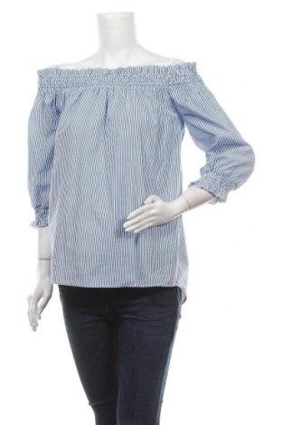 Дамска блуза Project Unknown, Размер XS, Цвят Син, 75% памук, 25% полиестер, Цена 19,95лв.