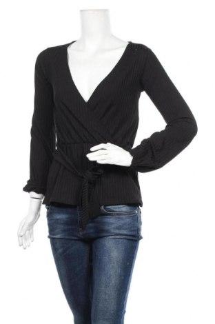 Дамска блуза Project Unknown, Размер XS, Цвят Черен, 90% полиестер, 10% еластан, Цена 5,51лв.