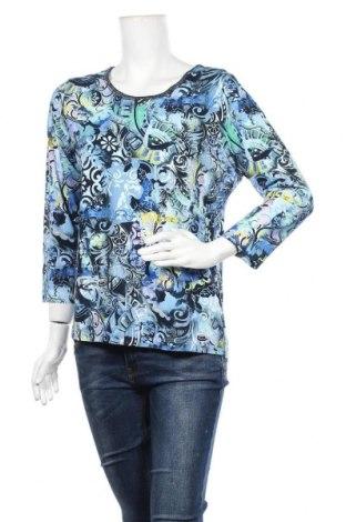 Дамска блуза Rabe, Размер L, Цвят Многоцветен, 96% вискоза, 4% еластан, Цена 14,96лв.