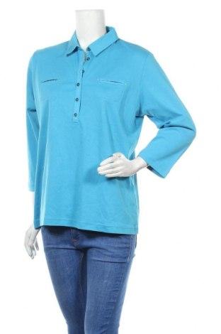 Дамска блуза Rabe, Размер XL, Цвят Син, Памук, Цена 19,95лв.