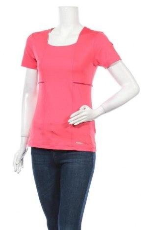 Дамска блуза Reebok, Размер L, Цвят Розов, 88% полиестер, 12% еластан, Цена 18,90лв.
