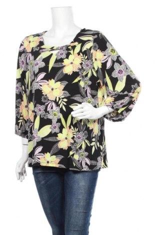 Дамска блуза Rockmans, Размер XL, Цвят Многоцветен, Полиестер, еластан, Цена 17,96лв.