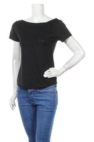 Дамска блуза Rohnisch, Размер S, Цвят Черен, 91% полиамид, 9% еластан, Цена 3,00лв.