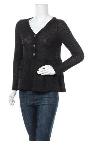 Дамска блуза SHEIN, Размер S, Цвят Черен, 65% памук, 35% полиестер, Цена 18,90лв.