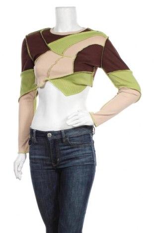 Дамска блуза SHEIN, Размер S, Цвят Многоцветен, 95% полиестер, 5% еластан, Цена 10,92лв.