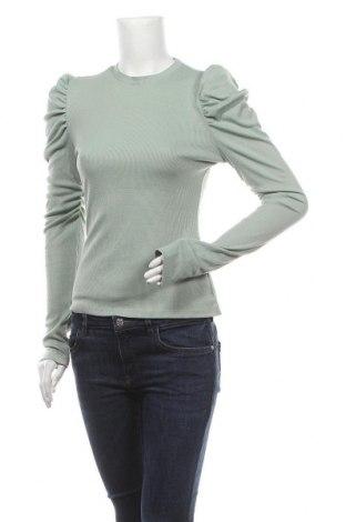 Дамска блуза SHEIN, Размер M, Цвят Зелен, Цена 17,85лв.