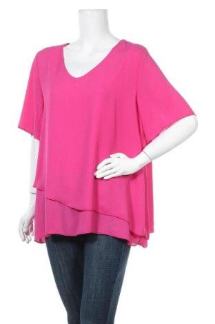 Дамска блуза Samoon, Размер XL, Цвят Розов, Цена 5,67лв.