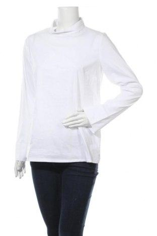 Дамска блуза Someday., Размер M, Цвят Бял, 65% памук, 30% полиамид, 5% еластан, Цена 7,25лв.