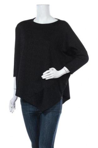 Дамска блуза Someday., Размер S, Цвят Черен, 42% вискоза, 37% памук, 15% полиамид, 6% еластан, Цена 62,30лв.