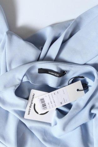 Дамска блуза Someday., Размер S, Цвят Син, 52% модал, 42% полиестер, 6% еластан, Цена 51,75лв.