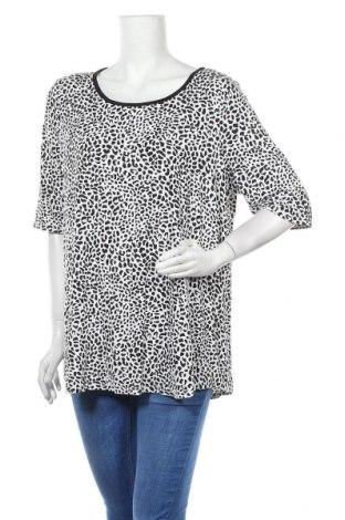 Дамска блуза Sussan, Размер XXL, Цвят Черен, 95% вискоза, 5% еластан, Цена 5,67лв.