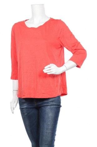 Дамска блуза Sussan, Размер XL, Цвят Оранжев, 50% памук, 50% вискоза, Цена 4,46лв.