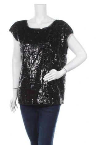Дамска блуза Sussan, Размер XL, Цвят Черен, Полиестер, Цена 12,50лв.