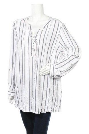 Γυναικεία μπλούζα Suzanne Grae, Μέγεθος XXL, Χρώμα Λευκό, Βισκόζη, Τιμή 11,11€