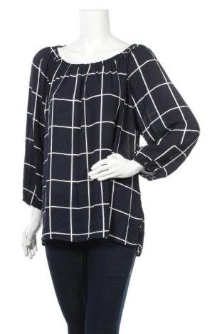Γυναικεία μπλούζα Suzanne Grae, Μέγεθος XL, Χρώμα Μπλέ, Πολυεστέρας, Τιμή 10,52€
