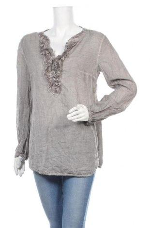 Дамска блуза Taifun By Gerry Weber, Размер XL, Цвят Сив, Цена 13,97лв.