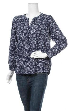 Дамска блуза Tom Tailor, Размер L, Цвят Син, Вискоза, Цена 29,40лв.